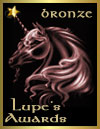Lupe's Award: Bronze  (13 February 2008)