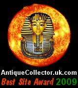 Antique Collector Best Site Award (2009)  (6 March 2009)