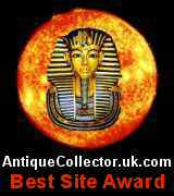 Antique Collector Best Site Award