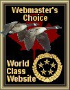 HindSight Fishing Charters World Class Website Award  (9 March 2008)