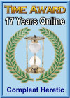 Time Award: 17 Years Online  (13 January 2015)