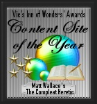 Vie's Inn of Wonders Award: Content Site of the Year (29 December 2013)